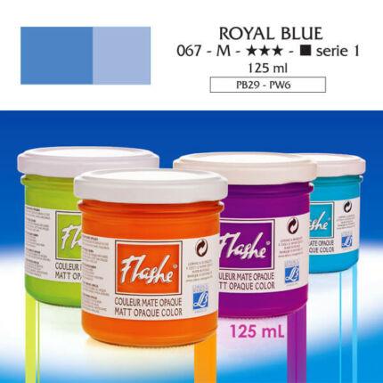 Flashe akrilfesték, 125 ml - 067, royal blue