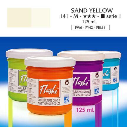 Flashe akrilfesték, 125 ml - 141, sand yellow