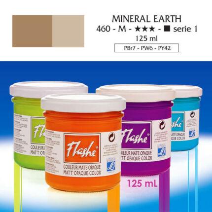 Flashe akrilfesték, 125 ml - 460, mineral earth