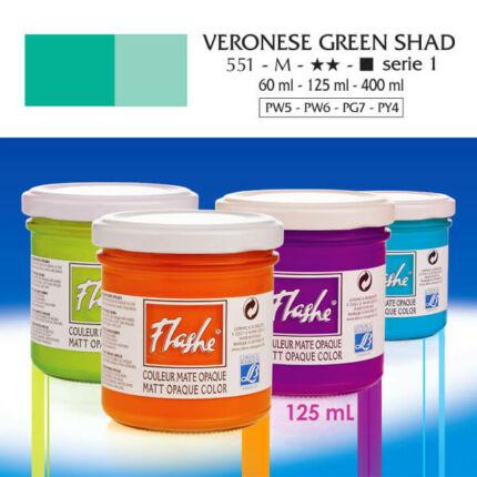 Flashe akrilfesték, 125 ml - 551, veronese green shade