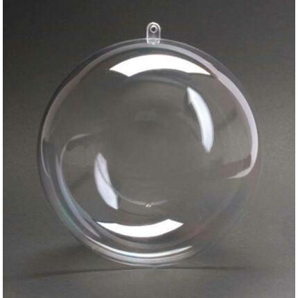 Kétrészes műanyag gömb - 16 cm