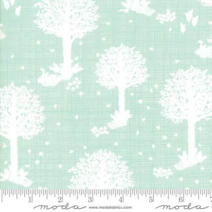 Patchwork anyag - Moda -  Wonder by Kate and Birdie 13191-15 aqua forest