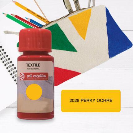 Art Creation textilfesték világos anyagra - 2028 Perky occhre