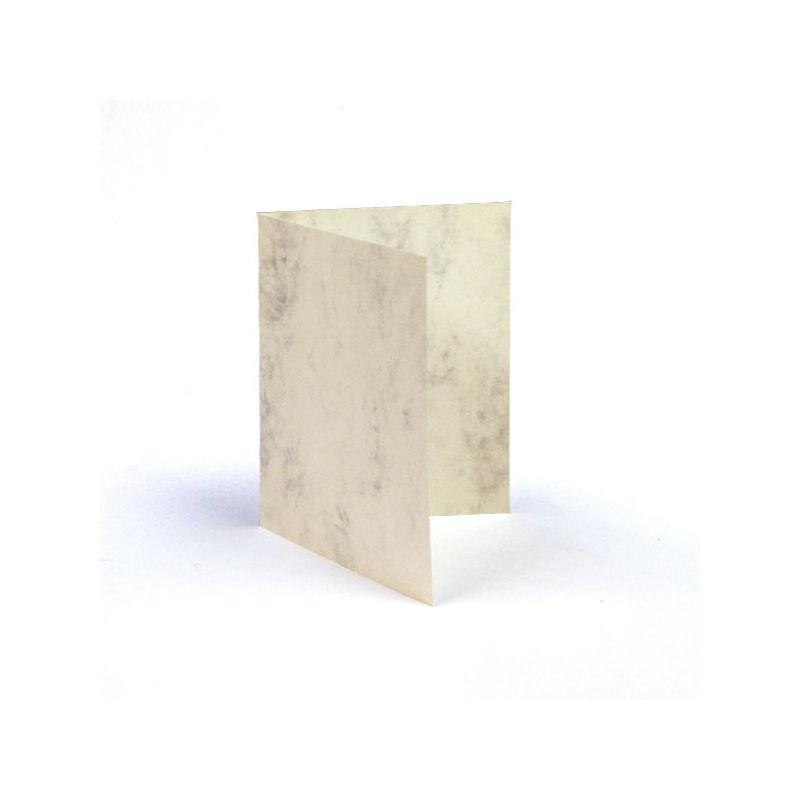 Paszpartu kártya, teli, A6 - márvány, 2 részes