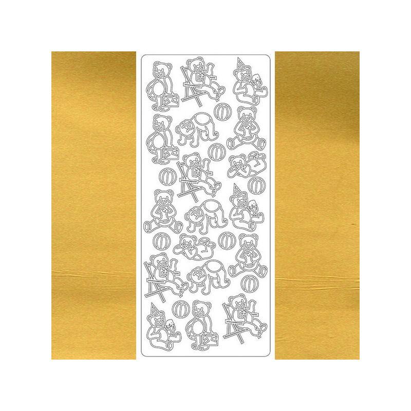 Kontúrmatrica - macik, arany, 1667  - AKCIÓS