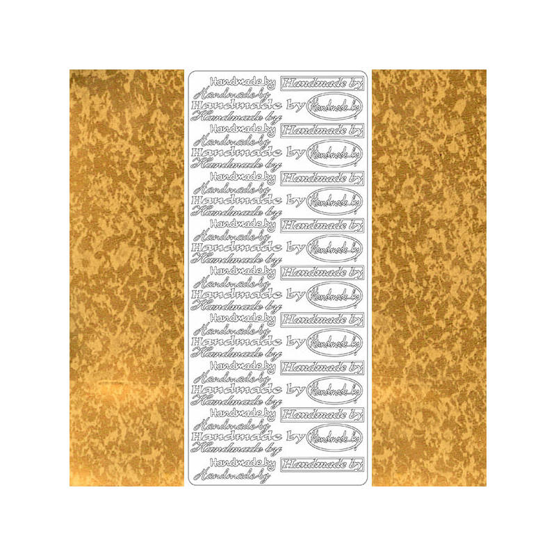 Kontúrmatrica - hand made by, antik arany, 2683 - AKCIÓS