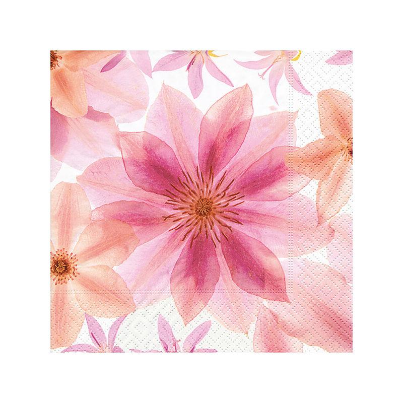 Szalvéta csomagban - Préselt virágok