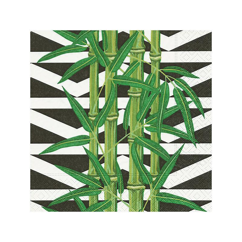 Szalvéta csomagban - Bambusz levelek