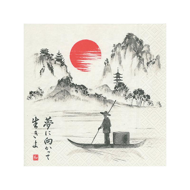 Szalvéta csomagban - Japán hajó