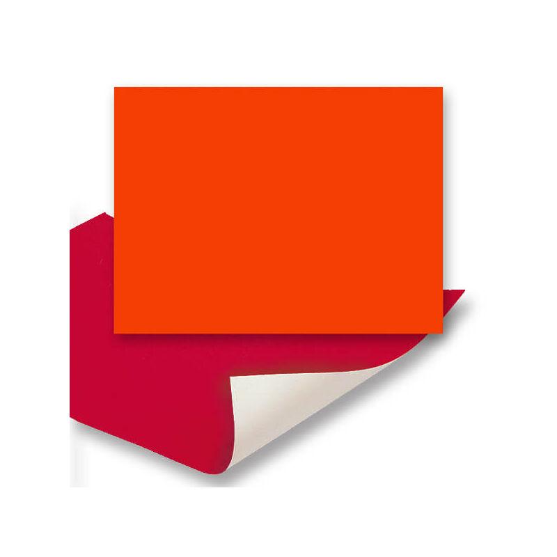 Plakát karton, 48x68 cm - neon narancspiros