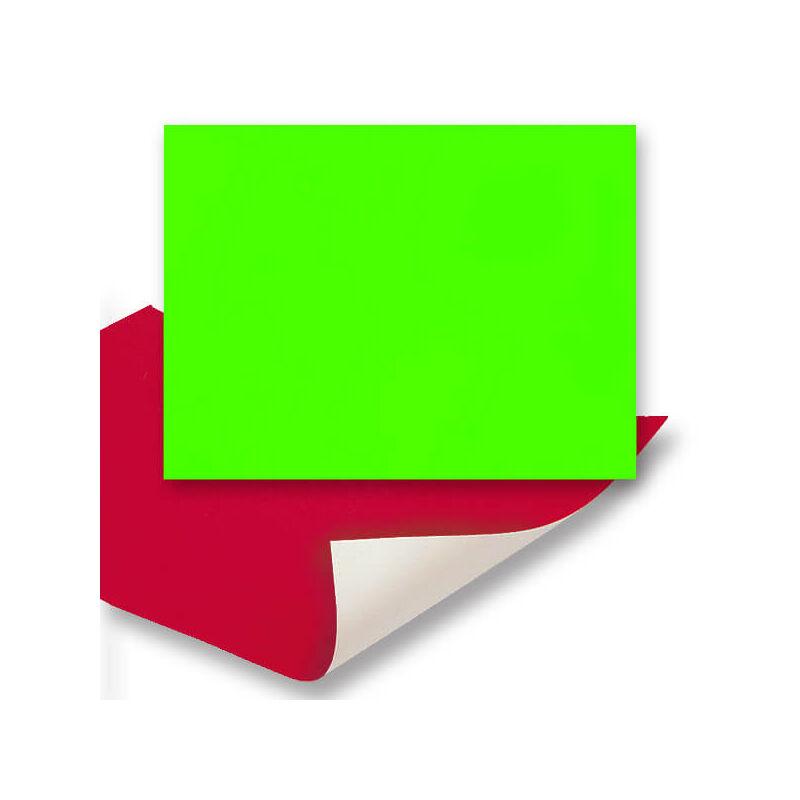 Plakát karton, 48x68 cm - neon zöld
