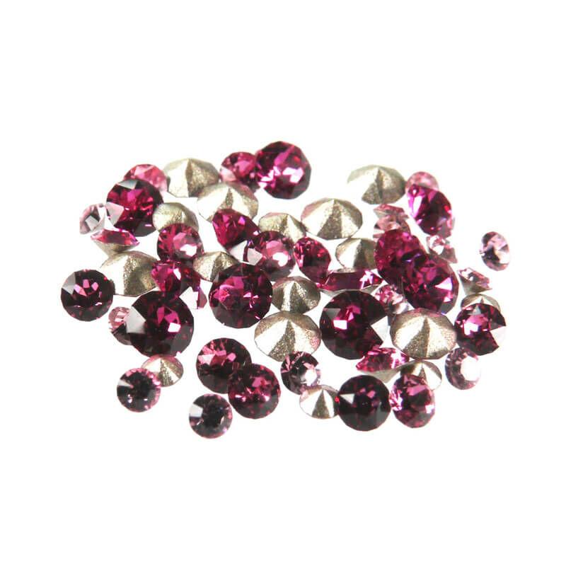 1028-1088 Swarovski Xilion Chaton-Xirius Chaton válogatás - rózsaszín