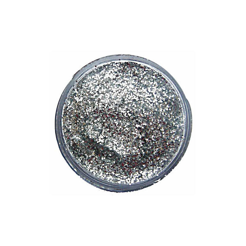 Snazaroo glitter gél - silver