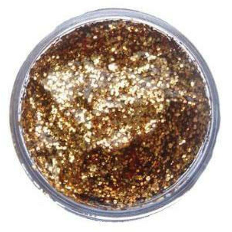 Snazaroo glitter gél - yellow gold