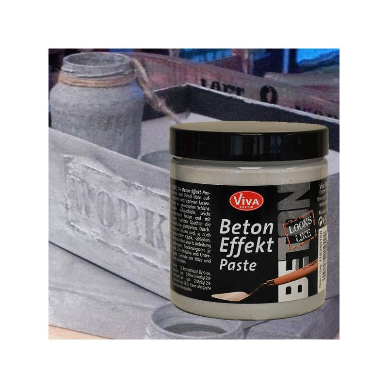 Beton Effekt Paste, 250 ml - szürke paszta