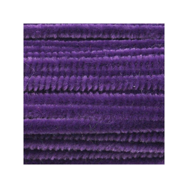 Zsenília, 30 cm - sötétlila
