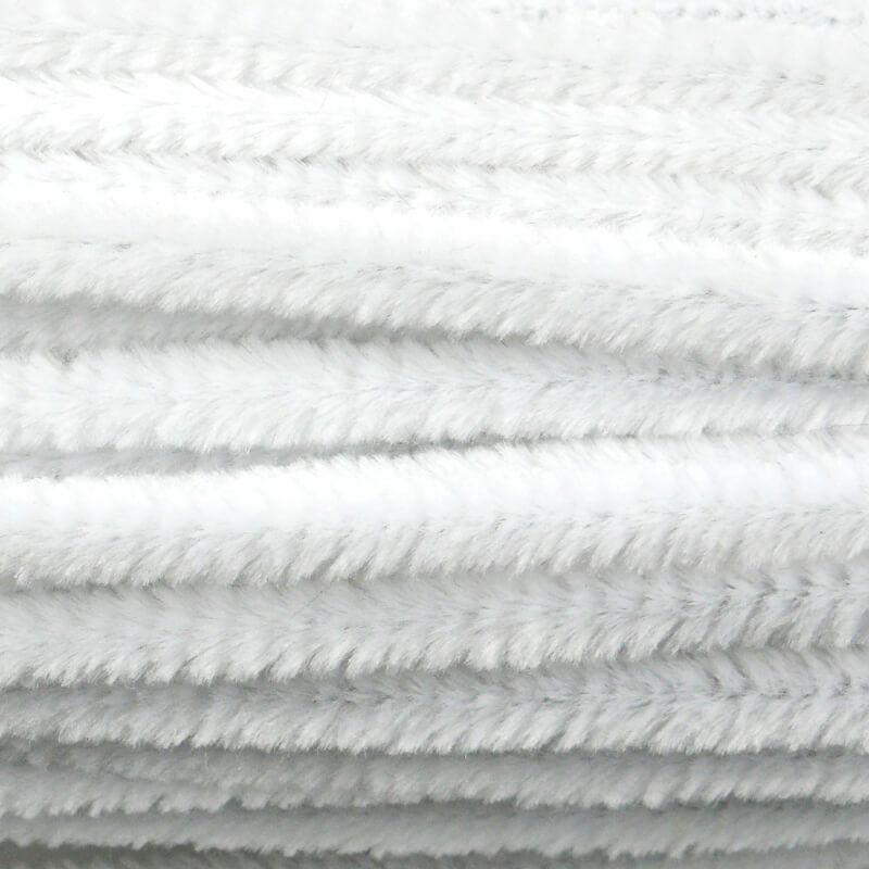 Zsenília, 50 cm - fehér