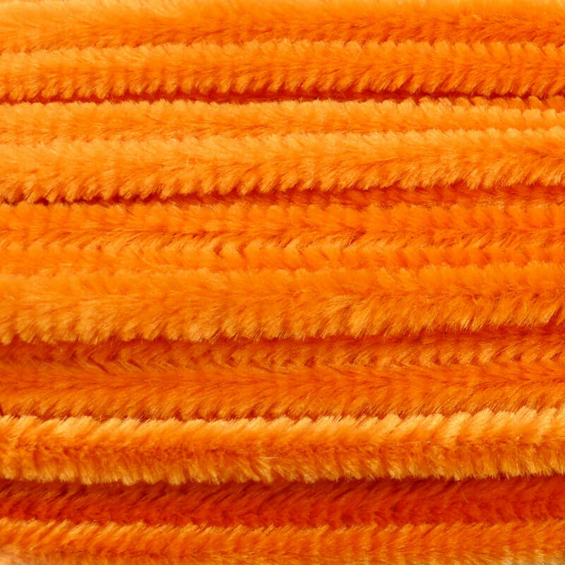 Zsenília, 50 cm - narancs