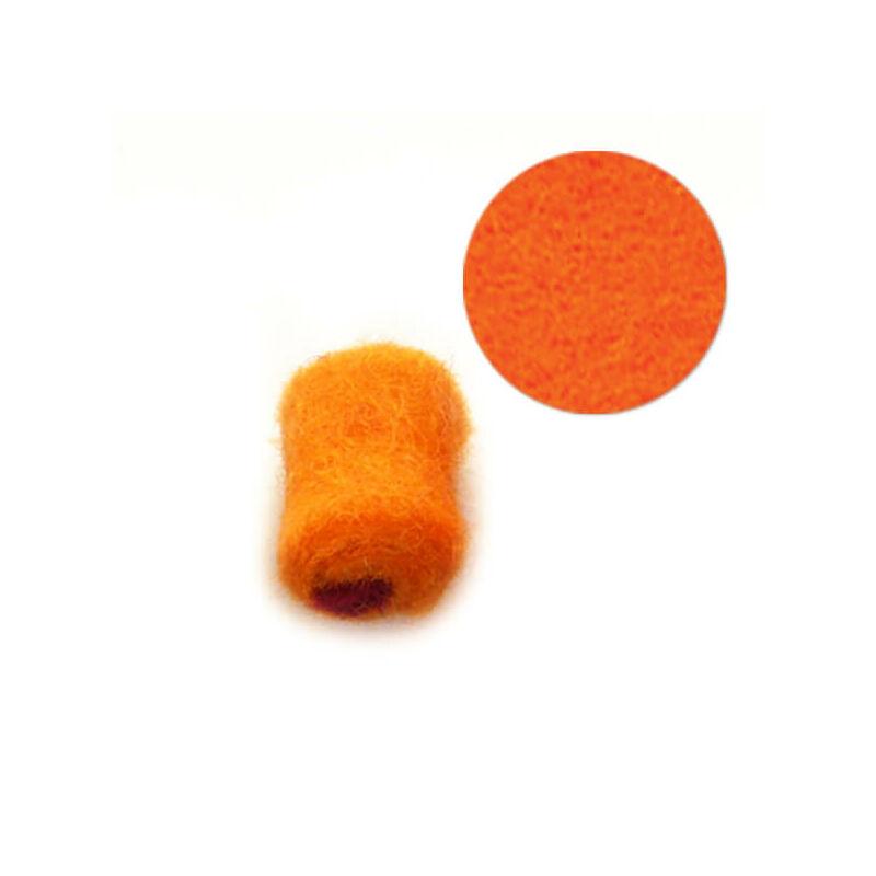 Filcgyöngy, töltött cukor - narancs