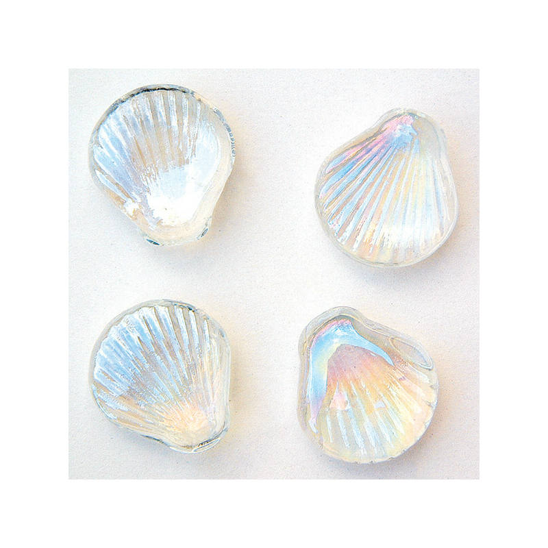 Üvegforma, darabra - kagyló