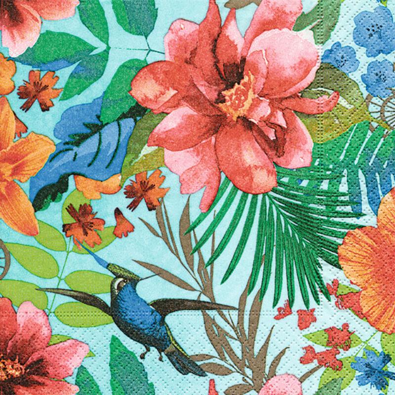 Szalvéta csomagban - Trópusi paradicsomban