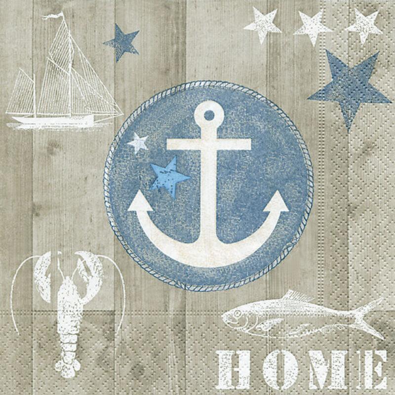 Szalvéta csomagban - Otthon a tengeren