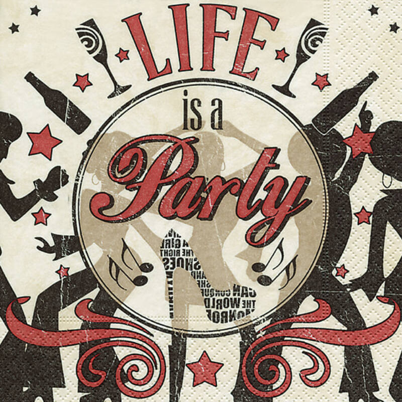 Szalvéta csomagban - Buli az élet!