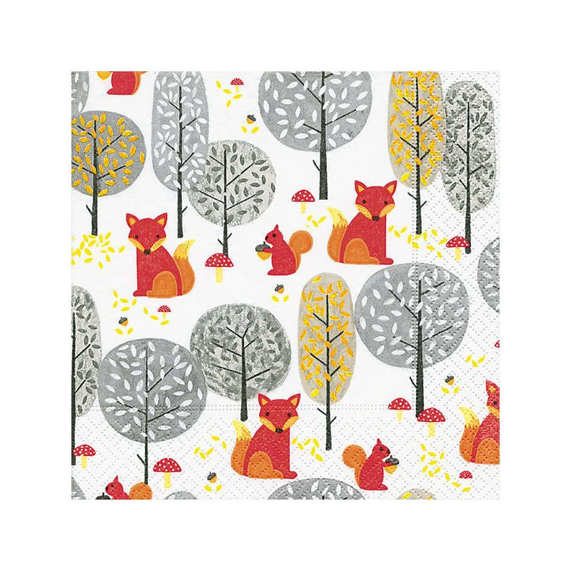 Szalvéta csomagban - Gombászó rókák