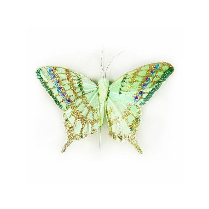 Csillámos zöld pillangó