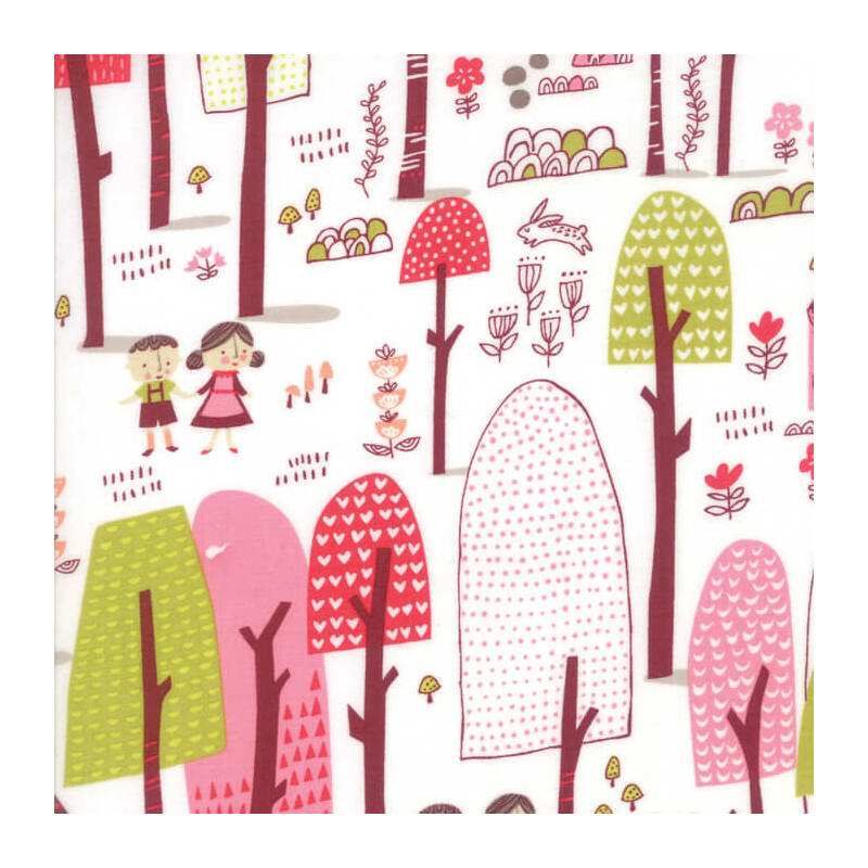Akció! Patchwork anyag - Moda - Just Another Walk in the Woods 20521-11