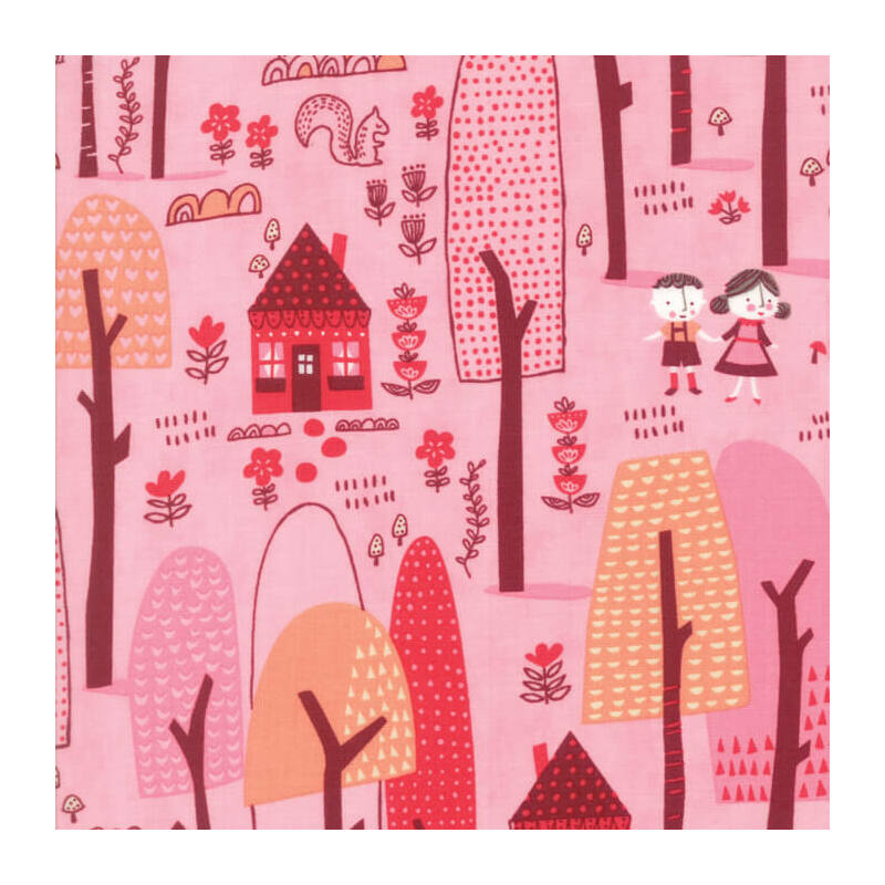 Akció! Patchwork anyag - Moda - Just Another Walk in the Woods 20521-12