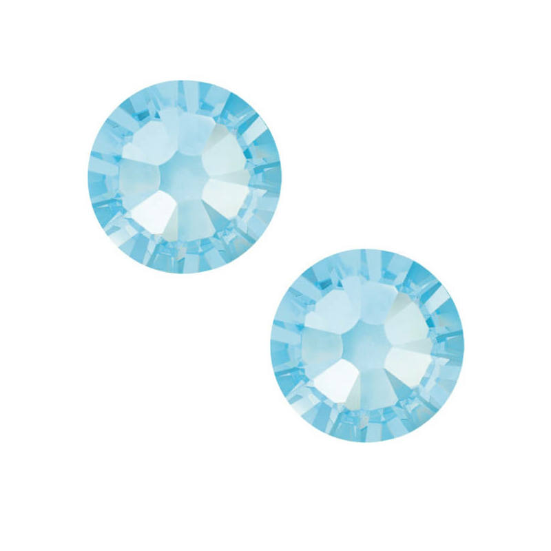 2058 Swarovski Xilion Rose ragasztható kristály, SS20 (4,7 mm) - Aquamarine