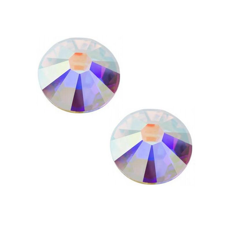 2078 Swarovski Xilion Rose Hotfix vasalható kristály, SS12 (3,1 mm) - Crystal AB