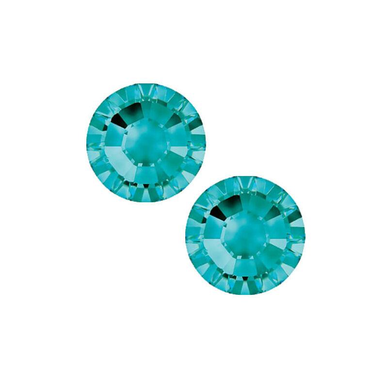 2038 Swarovski Xilion Rose Hotfix vasalható kristály, SS10 (2,8 mm) - Light Turquoise