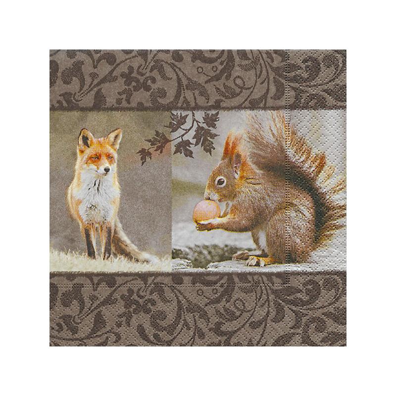 Szalvéta csomagban - Róka-mókus találkozó