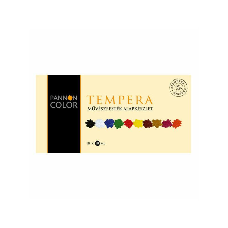 Pannoncolor temperakészlet - 10 db