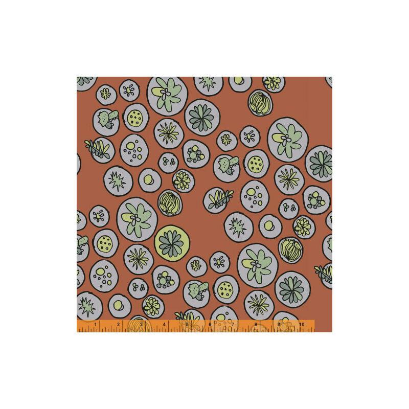 AKCIÓ! Patchwork anyag - Windham - Succulents 40237-7