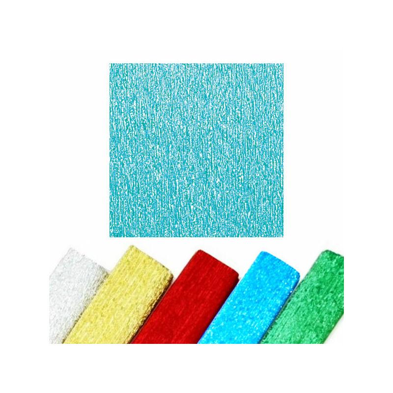 Krepp papír, ALU, 50x250 cm - kék