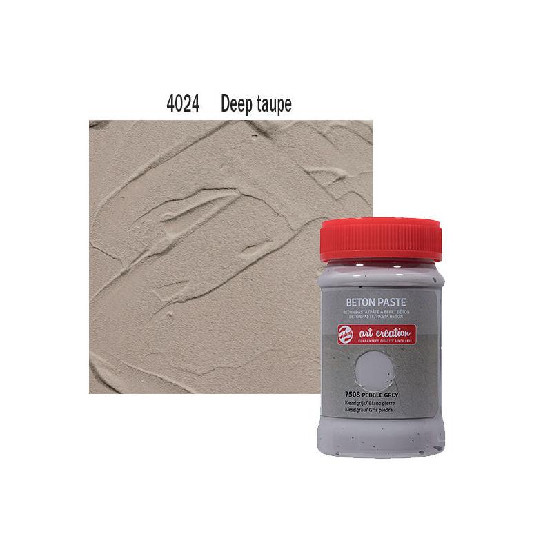 Betonpaszta, Art Creation, 100 ml - 4024 Deep taupe