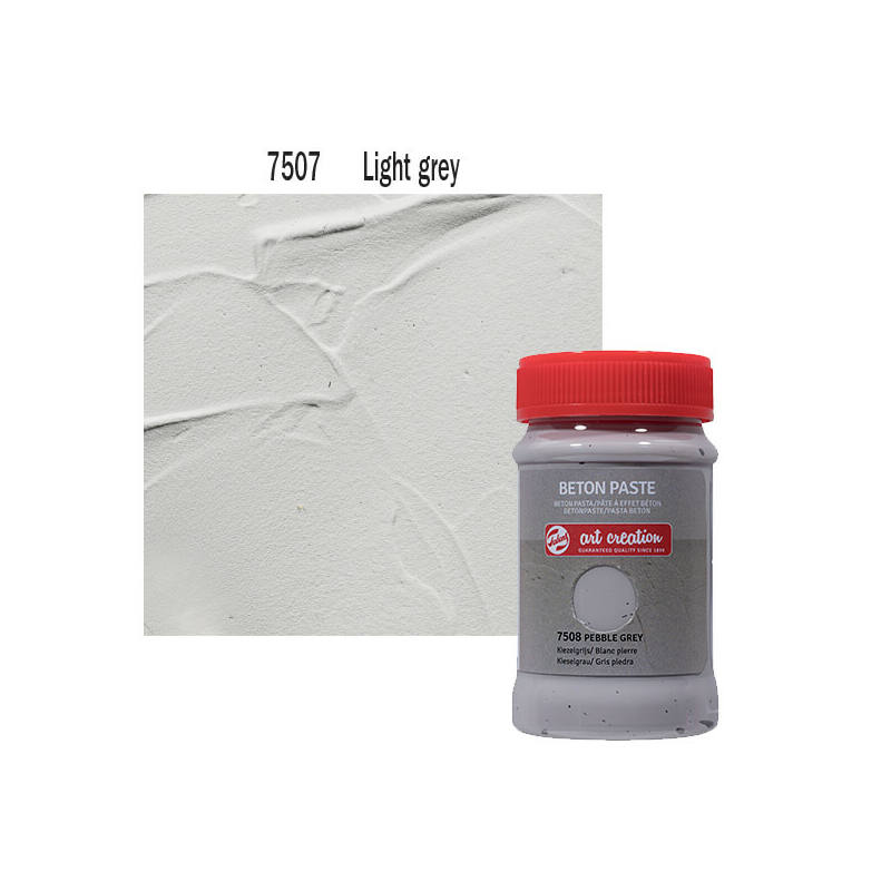Betonpaszta, Art Creation, 100 ml - 7507 Light grey
