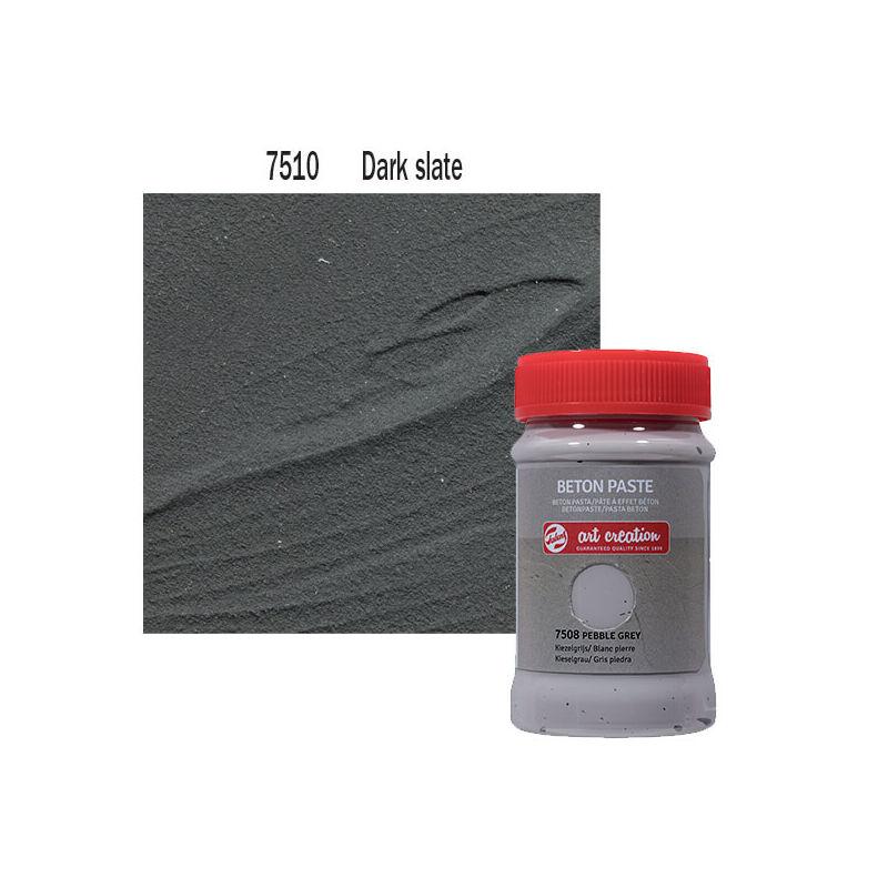 Betonpaszta, Art Creation, 100 ml - 7510 Dark slate