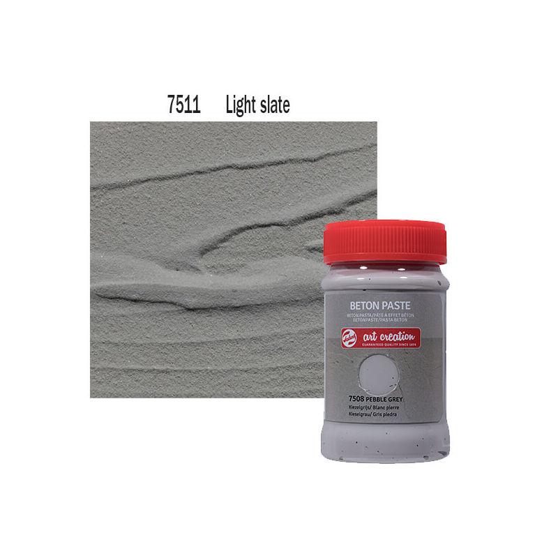 Betonpaszta, Art Creation, 100 ml - 7511 Light slate