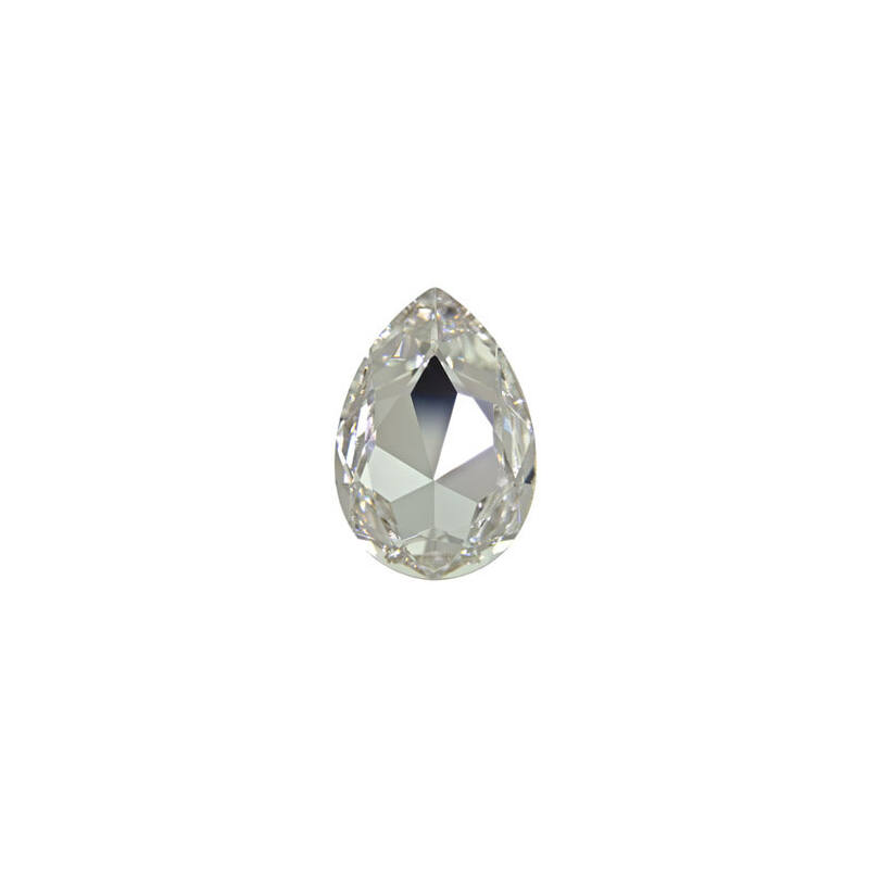 4327 Swarovski csepp alakú befoglalható kristály, 30x20 mm - Crystal