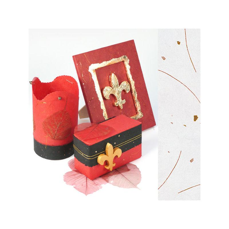 Golden Star rostpapír, 50x70 cm - fehér, 35 g