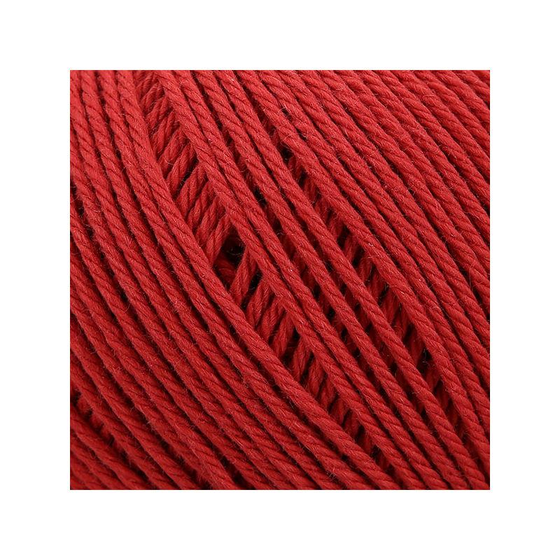 Horgolófonal, Anchor Organic Cotton, 50 g, vegán - 01025 terrakotta