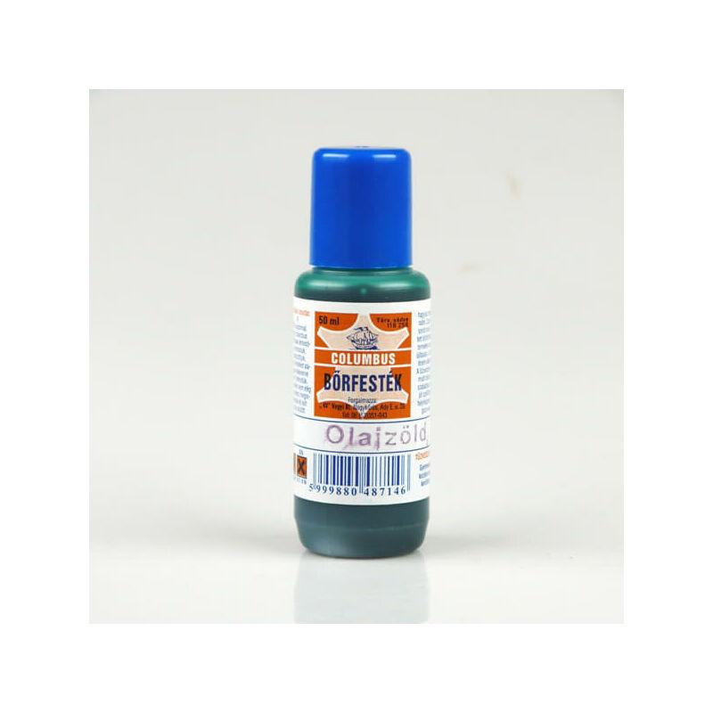 Colombus bőrfesték - 50 ml - olajzöld