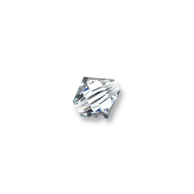 5328 Swarovski kúpos gyöngy, 3 mm - Crystal
