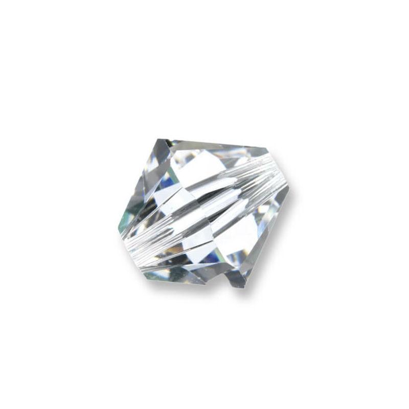 5328 Swarovski kúpos gyöngy, 6 mm - Crystal