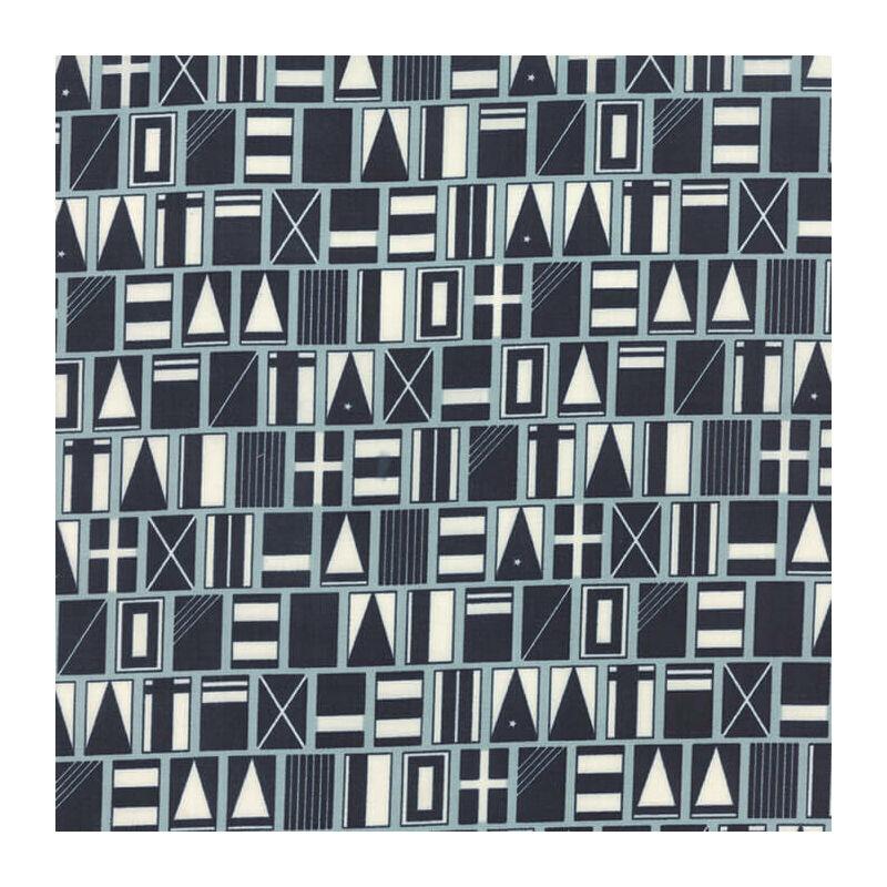 Akció! Patchwork anyag - Moda - The Boat House 5550-11