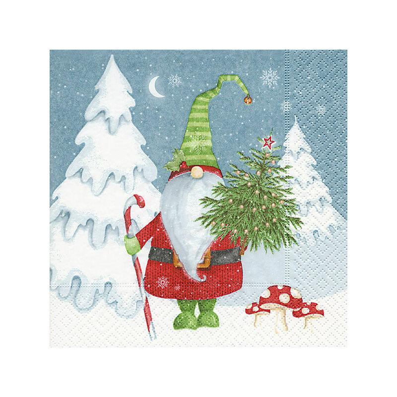 Szalvéta csomagban - Karácsonymanó